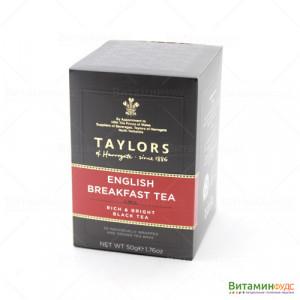 Чай Taylors of Harrogate Английский завтрак 20х2,5г