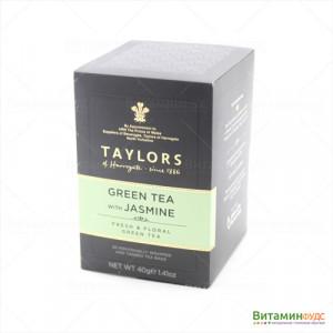 Чай Taylors of Harrogate Зеленый чай с цветками жасмина 20х2г