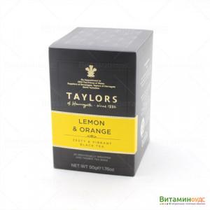 Чай Taylors of Harrogate С ароматом лимона и апельсина 20х2,5г