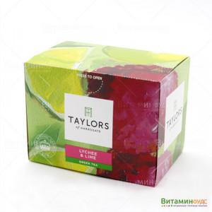 Чай Taylors of Harrogate С личи и лайм 20х1,5г