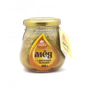 Мёд с цветочной пыльцой 300г