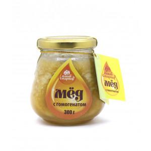 Мёд с гомогенатом 300г