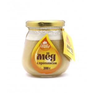 Мёд с прополисом 300г