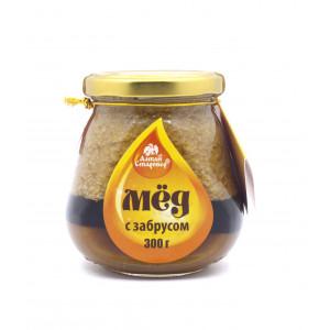 Мёд с забрусом 300г
