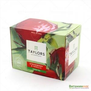 Чай Taylors of Harrogate С клубникой и ванилью 20х1,5г