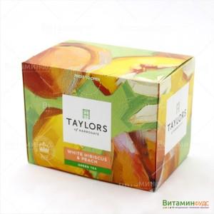 Чай Taylors of Harrogate Белый Гибискусом и персиком 20х1,5г