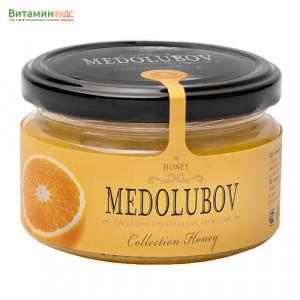 Крем-мёд Медолюбов с апельсином, 250мл