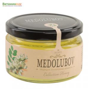 Мёд Медолюбов белая акация, 250мл
