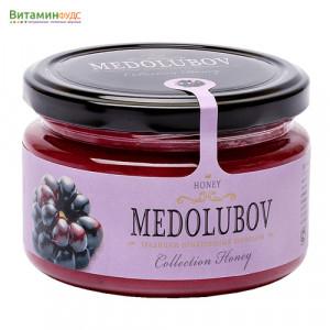 Крем-мёд Медолюбов с ежевикой, 250мл