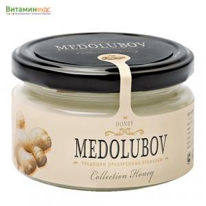 Крем-мёд Медолюбов с имбирем, 250мл
