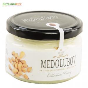 Крем-мёд Медолюбов с кедровым орехом, 250мл