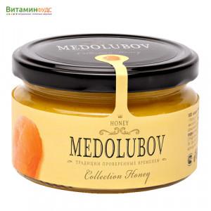Крем-мёд Медолюбов с курагой, 250мл