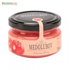Крем-мёд Медолюбов с брусникой, 100мл