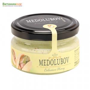 Крем-мёд Медолюбов c фисташкой, 100мл