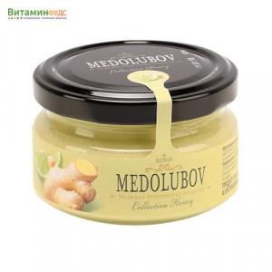 Крем-мёд Медолюбов лайм с имбирем, 100мл