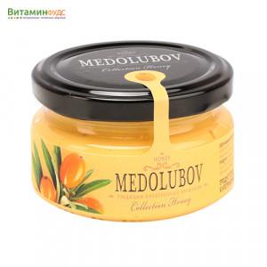 Крем-мёд Медолюбов с облепихой, 100мл