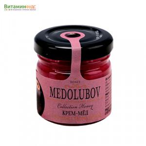 Крем-мёд Медолюбов с черной смородиной, 40мл
