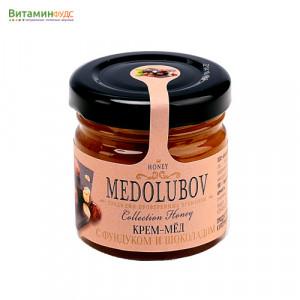 Крем-мёд Медолюбов фундук с шоколадом, 40мл