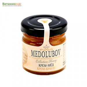 Крем-мёд Медолюбов крем-брюле, 40мл