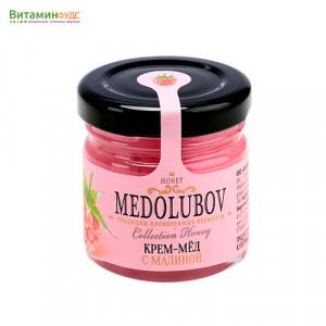 Крем-мёд Медолюбов малина, 40мл