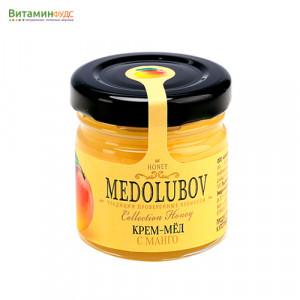 Крем-мёд Медолюбов с манго, 40мл