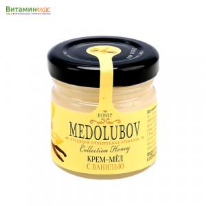 Крем-мёд Медолюбов с ванилью, 40мл