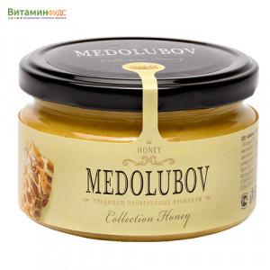 Крем-мёд Медолюбов с прополисом, 250мл