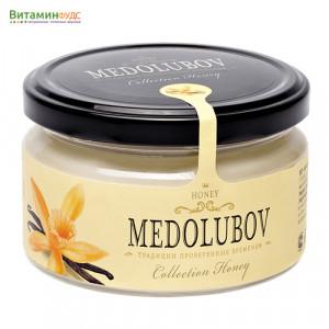 Крем-мёд Медолюбов с ванилью, 250мл