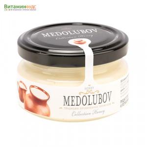 Крем-мёд Медолюбов с молоком, 100мл