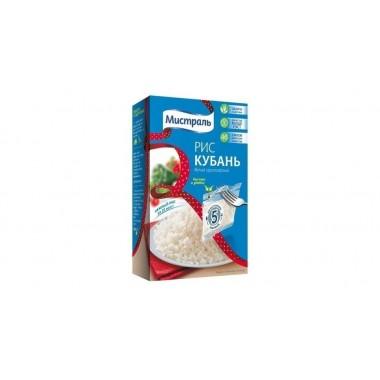 Рис Кубань белый круглозерный 5х80г, МИСТРАЛЬ в Пакетах для варки