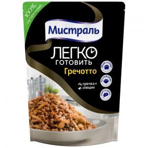 Второе блюдо легко готовить Гречотто 230г, МИСТРАЛЬ