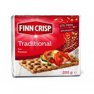 Хлебцы Traditional (Традиционные) 200г, FINN CRISP (Финляндия)