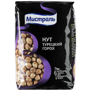 Нут Турецкий горох 450 г, МИСТРАЛЬ