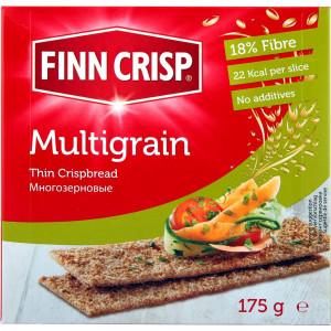Сухарики Multigrain (Многозерновые) 175г, FINN CRISP (Финляндия)