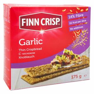 Сухарики Garlic (С чесноком) 175г, FINN CRISP (Финляндия)