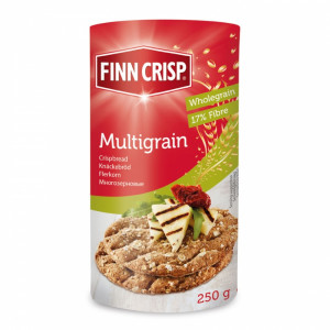 Хлебцы Multigrain (Многозерновые) 250г, FINN CRISP (Финляндия)