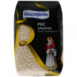 Рис Арборио белый среднезерный 500г, МИСТРАЛЬ Элитный