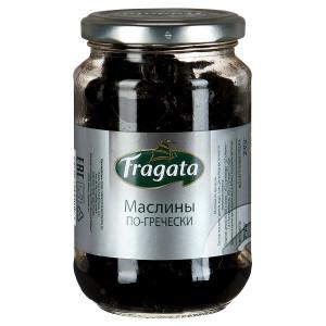 Маслины по-гречески, стекло 250г, FRAGATA (Испания)