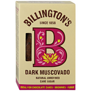 Сахар Dark Muscovado 500г, BILLINGTON'S нерафинированный тростниковый (Маврикий)