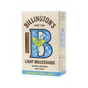 Сахар Light Muscovado 500г, BILLINGTON'S нерафинированный тростниковый (Маврикий)