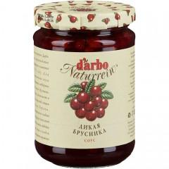 Соус Дикая Брусника 400г (60% фруктов), DARBO (Австрия)