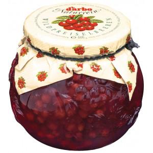 Соус Дикая Брусника 600г (55% фруктов), DARBO (Австрия)