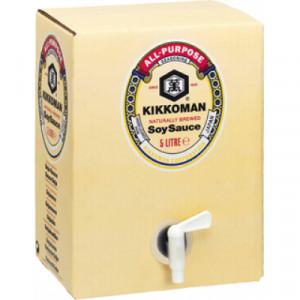 Соевый соус, bag-in-box 5 л, KIKKOMAN (Нидерланды)