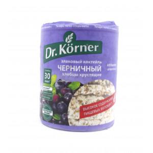 Хлебцы черничный, Dr. Korner, 100 г