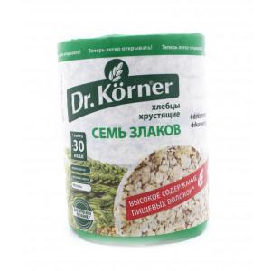 Хлебцы семь злаков, Dr. Korner, 100 г