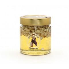 Мед с кедровым орехом 250 г