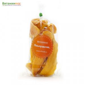Манго натуральное сушеное подарочная, 100 г