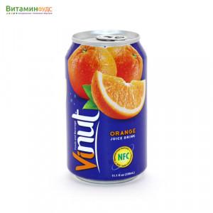 Напиток со вкусом Апельсина VINUT, 330мл.