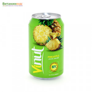 Напиток со вкусом Ананаса VINUT, 330мл.