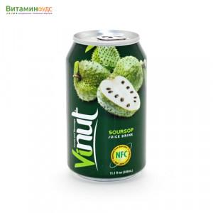 Напиток со вкусом Анноны VINUT, 330мл.